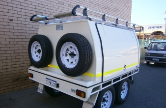 Roscos Trade Mate Built Canopies For Utes